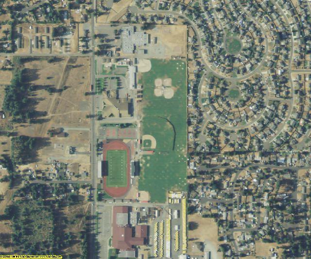 Pierce County, WA aerial photography detail