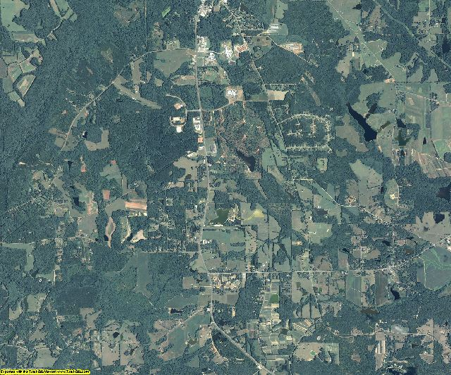 Pike County, Georgia aerial photography