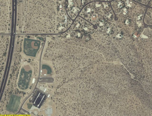 Pima County, AZ aerial photography detail