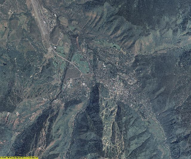 Pitkin County, Colorado aerial photography