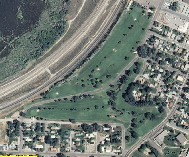 Power County, ID aerial photography detail