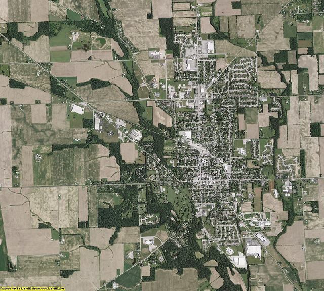 Preble County, Ohio aerial photography