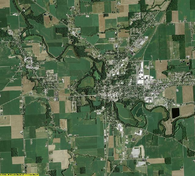 Putnam County, Ohio aerial photography