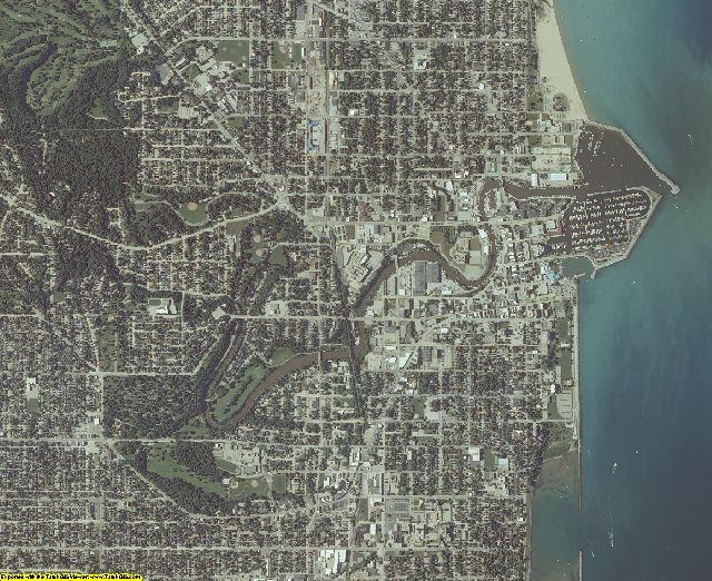 Racine County, Wisconsin aerial photography