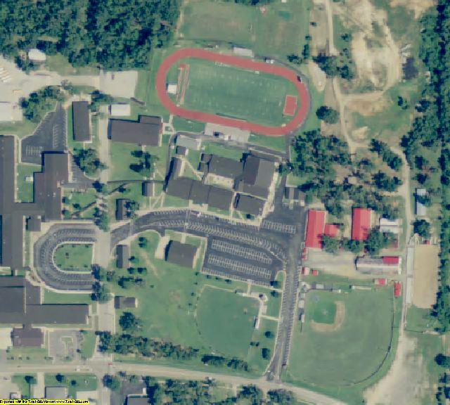 Randolph County, AR aerial photography detail