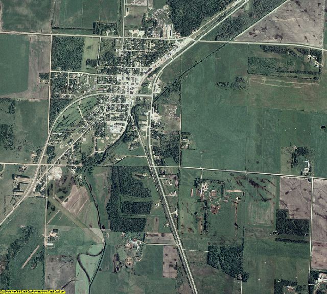 Roseau County, Minnesota aerial photography