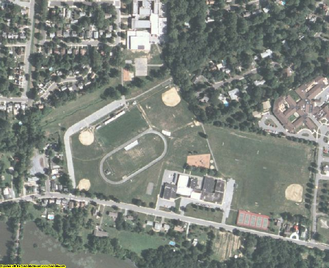 Salem County, NJ aerial photography detail