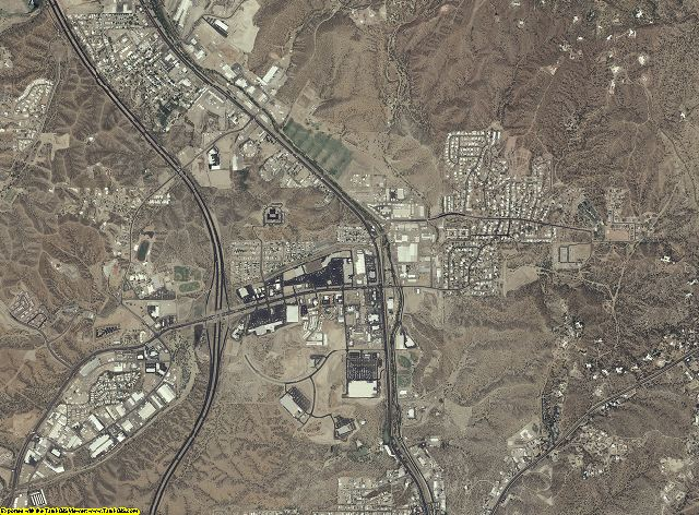 Santa Cruz County, Arizona aerial photography
