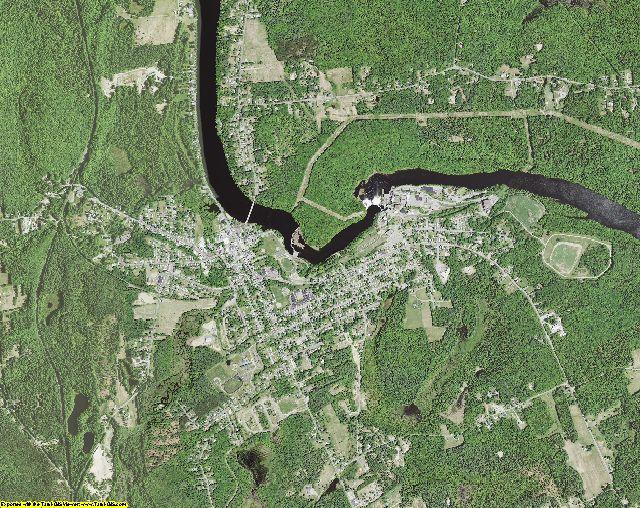 Saratoga County, New York aerial photography