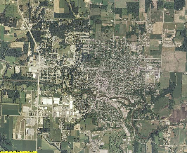 Sauk County, Wisconsin aerial photography