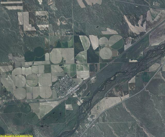 Sedgwick County, Colorado aerial photography