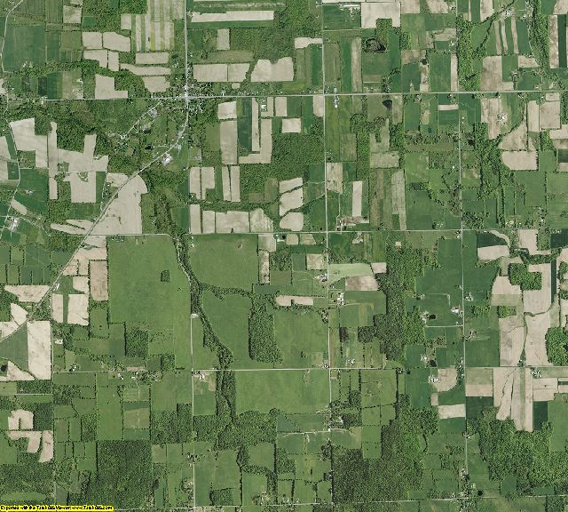 Seneca County, New York aerial photography