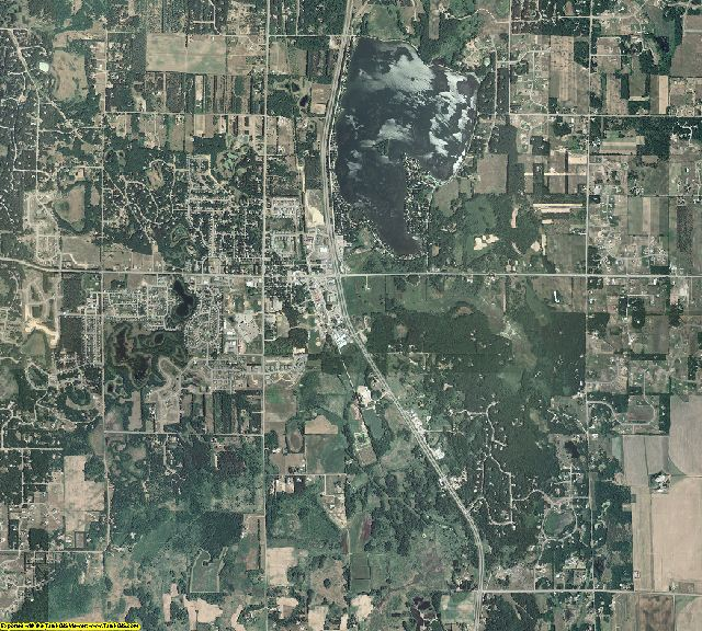 Sherburne County, Minnesota aerial photography