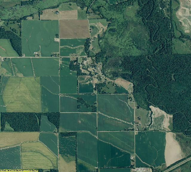 St. Francis County, Arkansas aerial photography