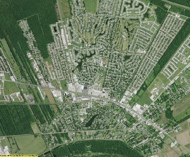St. John the Baptist County, Louisiana aerial photography