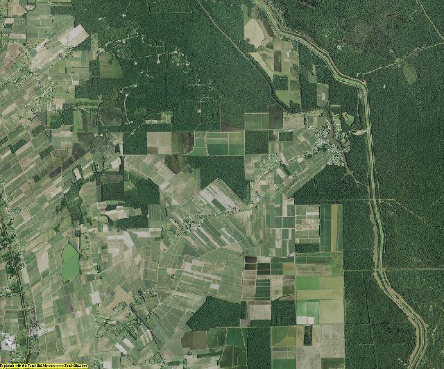 St. Martin County, Louisiana aerial photography
