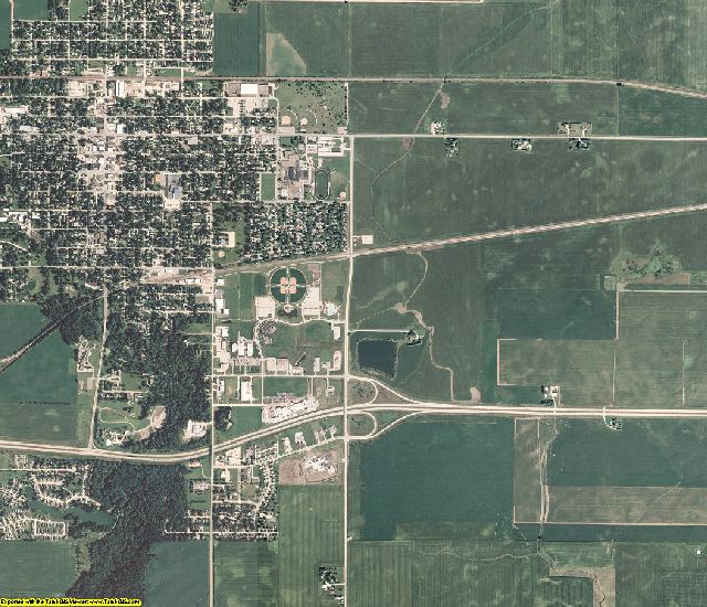 Story County, Iowa aerial photography