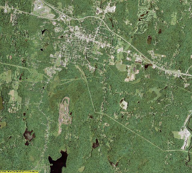 Sullivan County, New York aerial photography