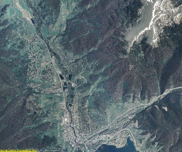 Summit County, Colorado aerial photography