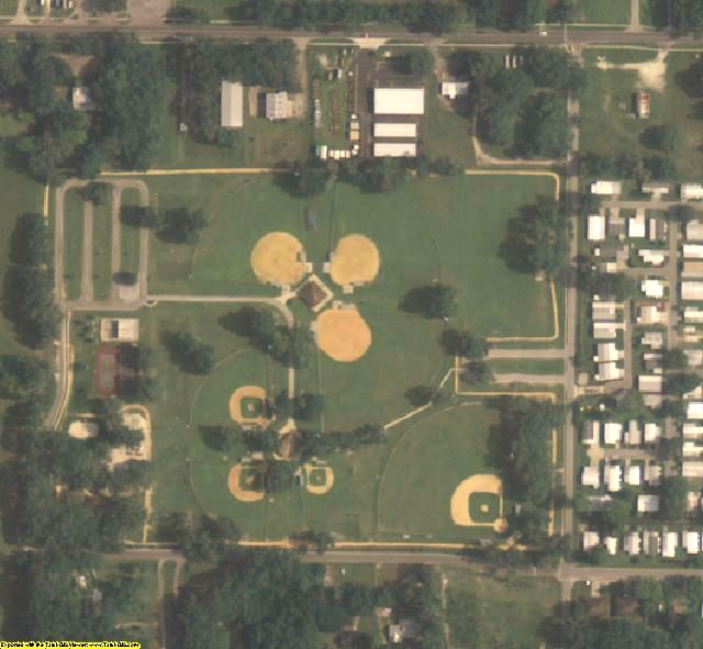 Sumter County, FL aerial photography detail