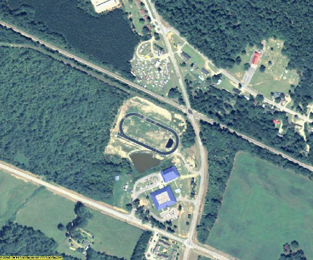 Taliaferro County, GA aerial photography detail