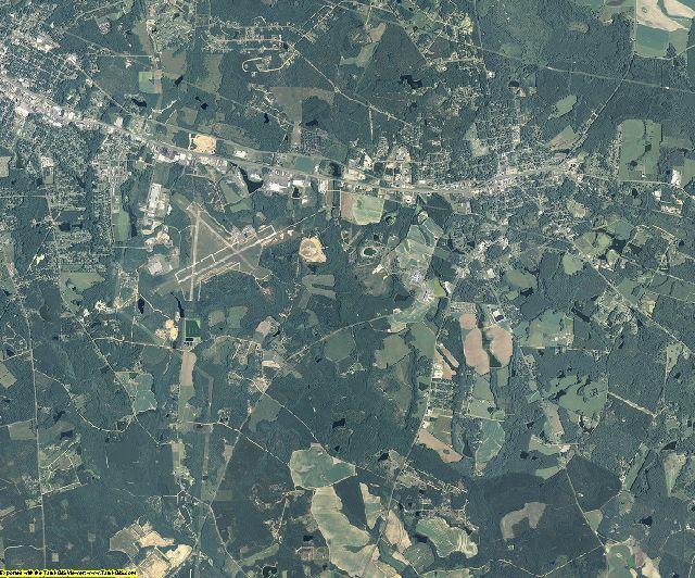 Toombs County, Georgia aerial photography