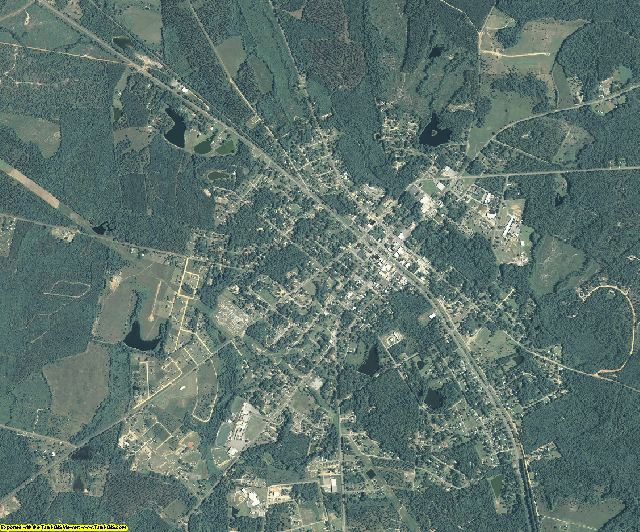 Treutlen County, Georgia aerial photography