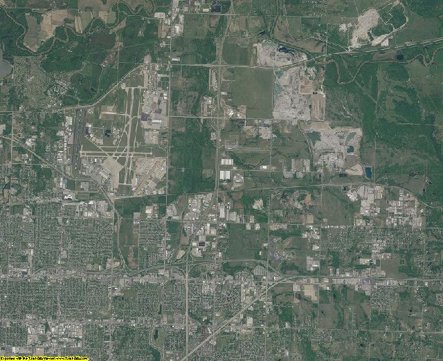 Tulsa County, Oklahoma aerial photography