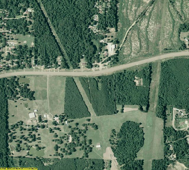 Union County, AR aerial photography detail