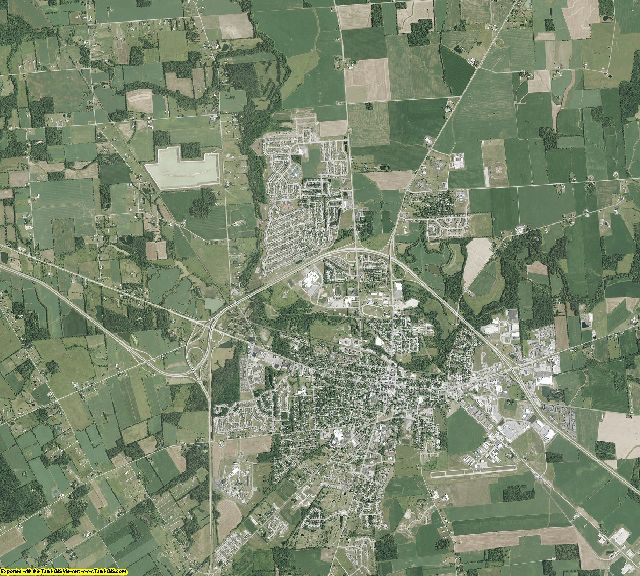 Union County, Ohio aerial photography