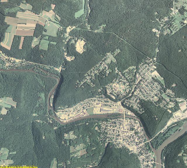 Venango County, Pennsylvania aerial photography