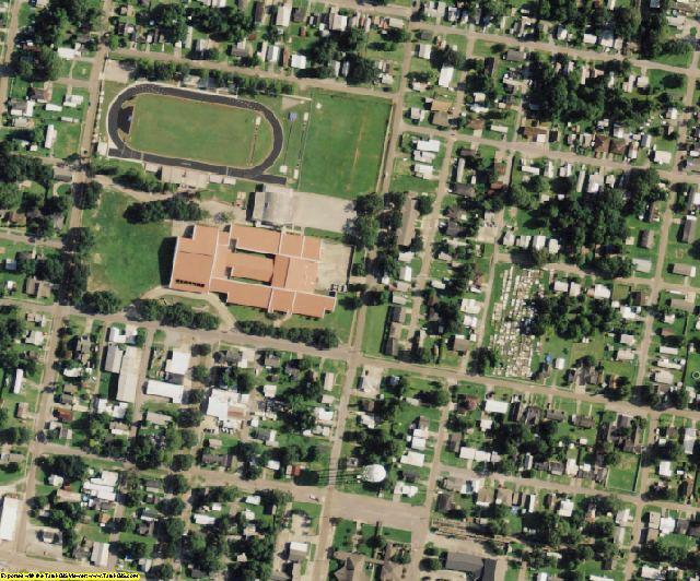 Vermilion County, LA aerial photography detail
