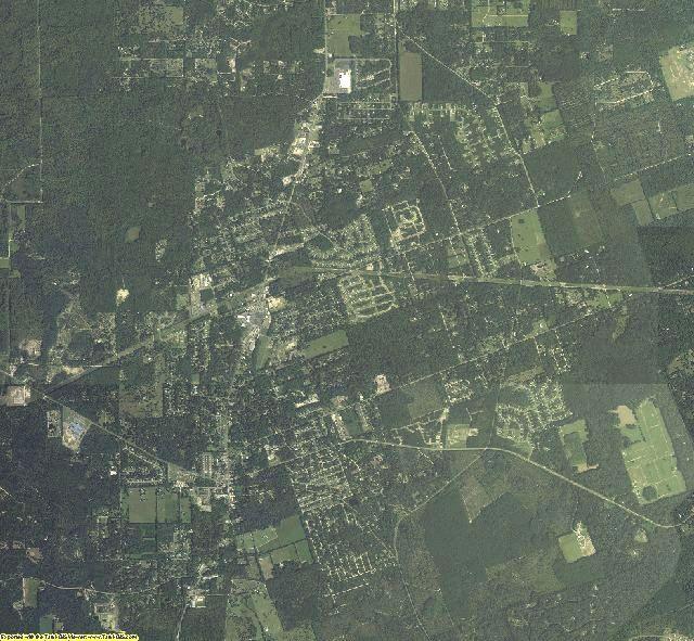 Wakulla County, Florida aerial photography