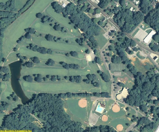 Walker County, GA aerial photography detail