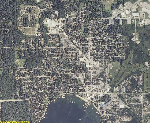 Walworth County, Wisconsin aerial photography