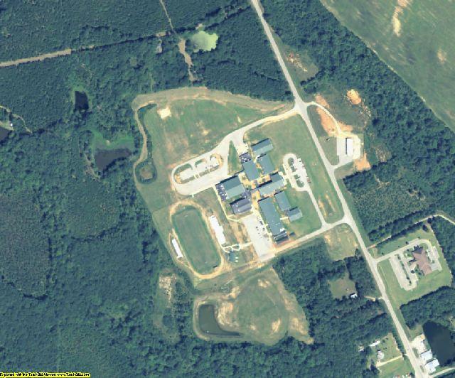 Warren County, GA aerial photography detail