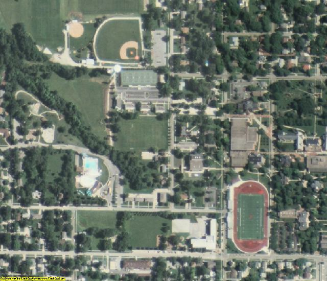 Warren County, IA aerial photography detail