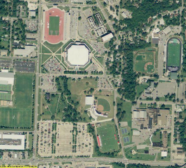 Washington County, AR aerial photography detail