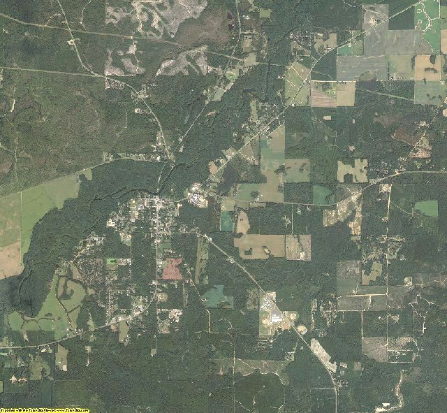 Washington County, Florida aerial photography