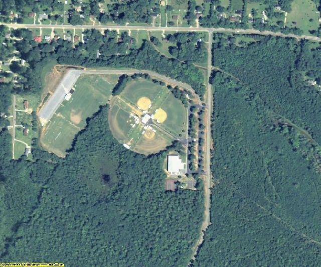 Washington County, GA aerial photography detail