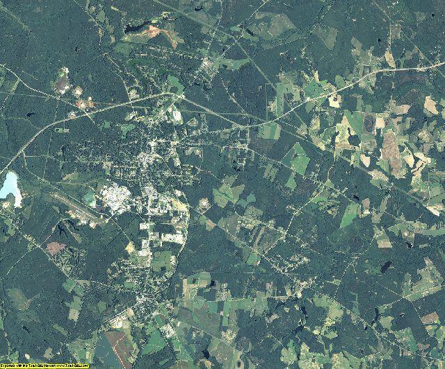 Washington County, Georgia aerial photography