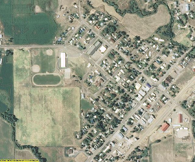 Washington County, ID aerial photography detail
