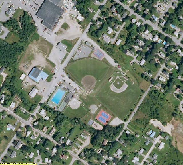Washington County, ME aerial photography detail