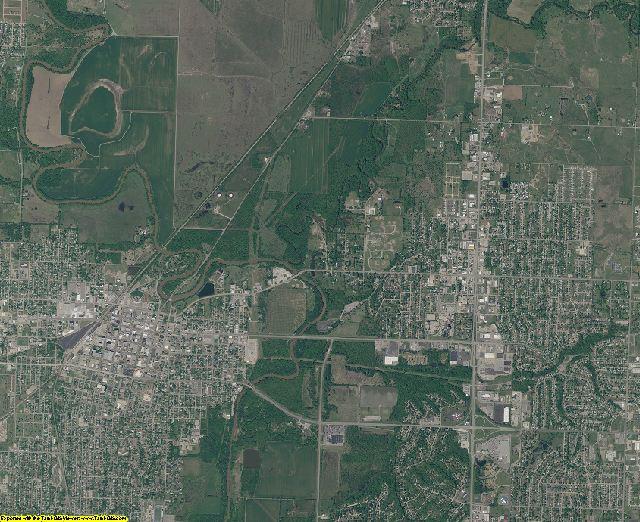 Washington County, Oklahoma aerial photography