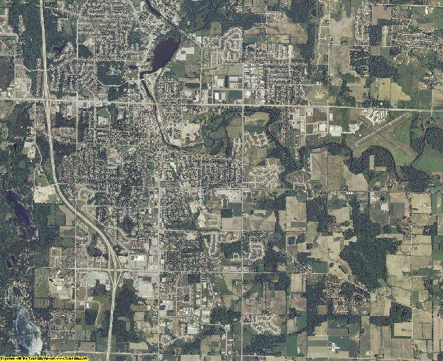 Washington County, Wisconsin aerial photography