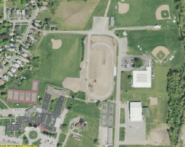 Wayne County, NY aerial photography detail