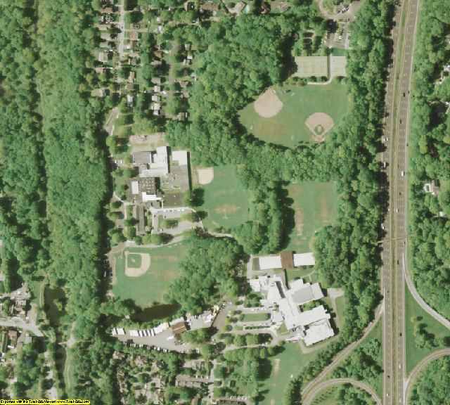 Westchester County, NY aerial photography detail