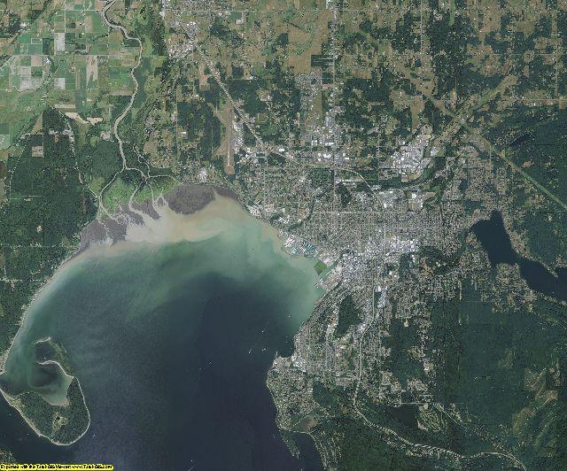Whatcom County, Washington aerial photography