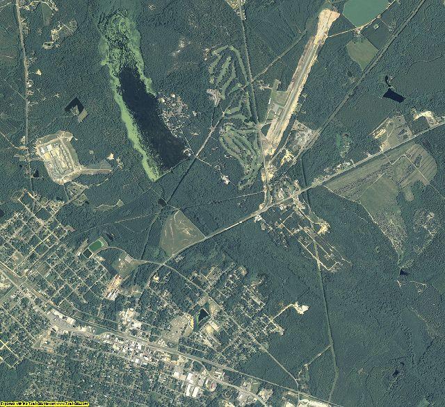 Wheeler County, Georgia aerial photography