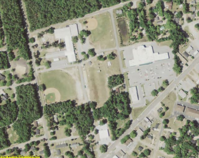 Williamsburg County, SC aerial photography detail